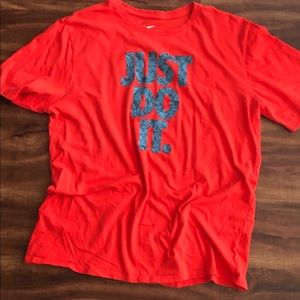 Just Do It Nike cotton tee.